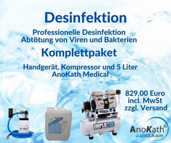 Desinfektion Komplettpaket